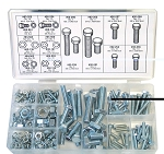 Metric Hex Bolt and Nut Assortment (225 Peices) Oregon # 08-240