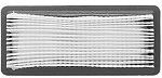 Replacement Air Filter For HONDA PAPER FILTERS # 17211-ZG9-800