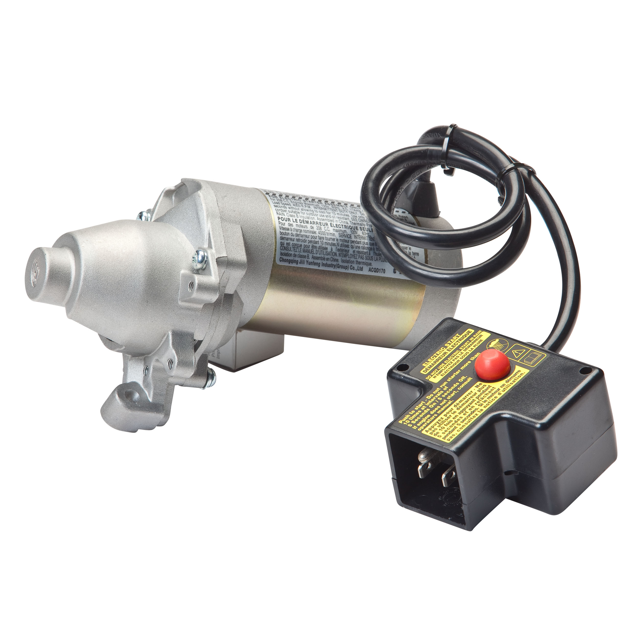 Electric Starter Motor 110 Volt For Mtd 984 04027a
