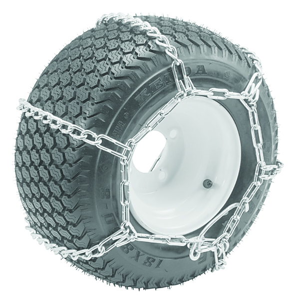 Snow Tire chains By Oregon Size 23 x 950 x 12  23 x 1050 x 12  4 Link Spacing