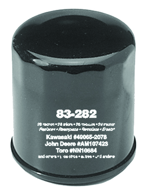 Oil Filter for Kawasaki 49065-2074, 1 Pack Clamshell
