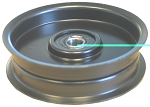 Flat Idler Pulley For Murray 490118, 90118