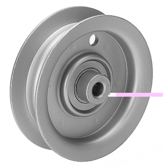 Idler Pulley : Flat idler pulley for ayp