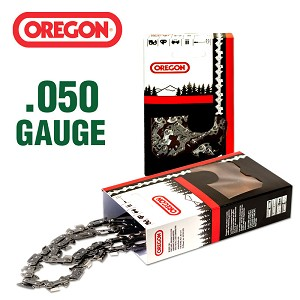 "Oregon # 91VXL semi chisel  3/8"" LP Pitch  50 Drive Links .050 Gauge  # 91VXL050CK"