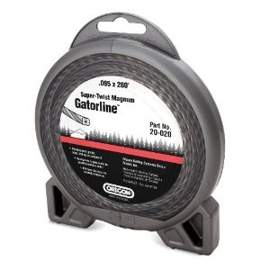 "Oregon Super Twist Magnum Gatorline Round Trimmer line .118"" Gauge 1 Lb Dount Package Footage 180'"