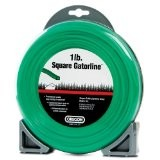 "Oregon Green Gator Line Square Trimmer line .105"" Gauge 1 Lb Dount Package Footage 179'"