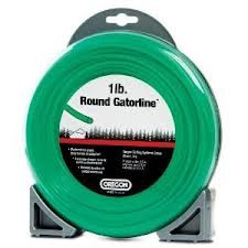 "Oregon Green Gator Line Round Trimmer line .130"" Gauge Dounut Package Footage 50'"