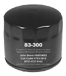 Replacement Transmission Oil Filter For Cub Cadet # 395789-R2 723-3014